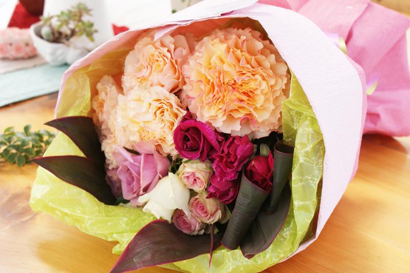 丸っこい花束その2