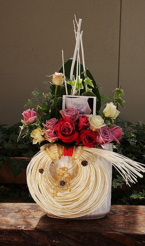 【クリスマス・年末年始】ハレの日にバラの花束を【お歳暮】