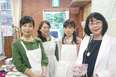 井上泉さんとグリーンゲイブルスコースにて。