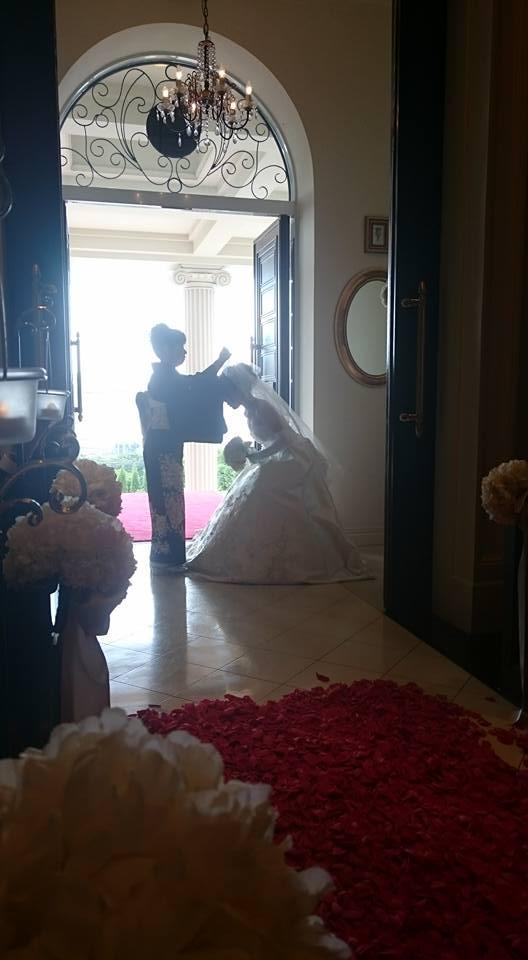 久しぶりに結婚式にご招待されました