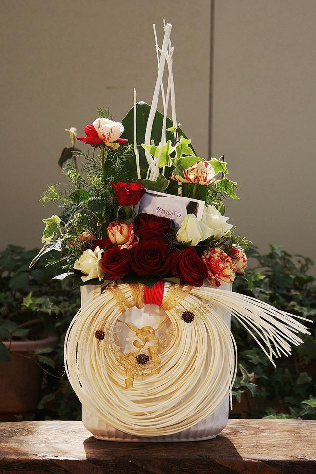 【12/9~12/12】波動バラハウスで楽しむものづくり~クリスマスアレンジメントをつくろう♪