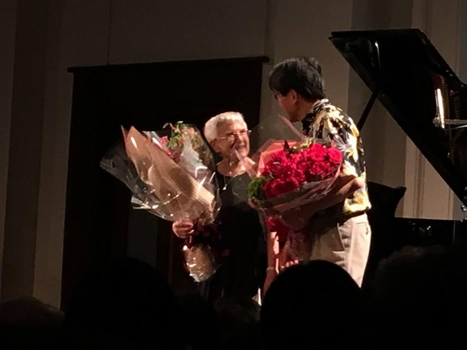 ルース・スレンチェンスカさんピアノコンサート