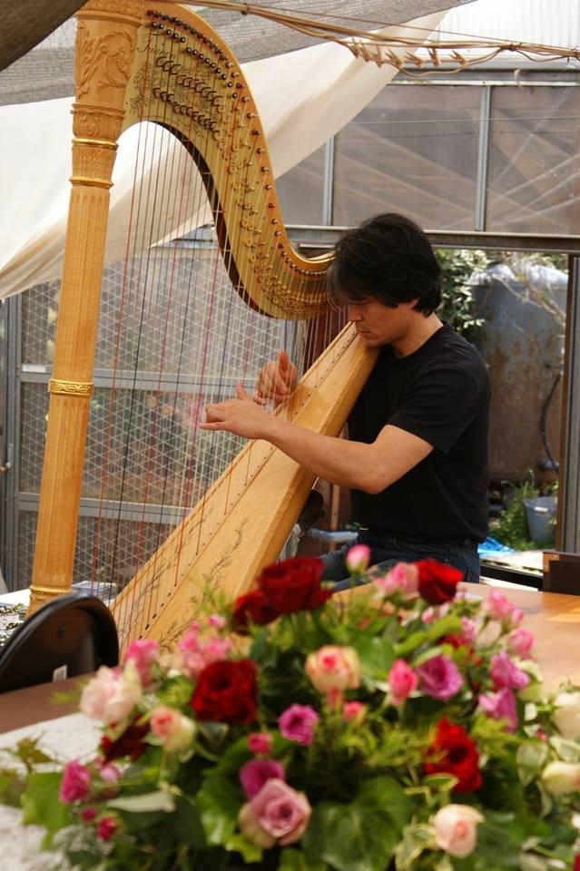 【10/28】古佐小基史ハープ演奏会 in 波動バラ園 <4>