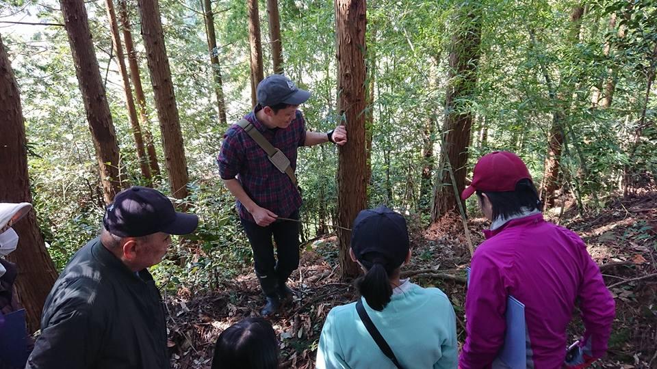 えひめ千年の森自然観察会
