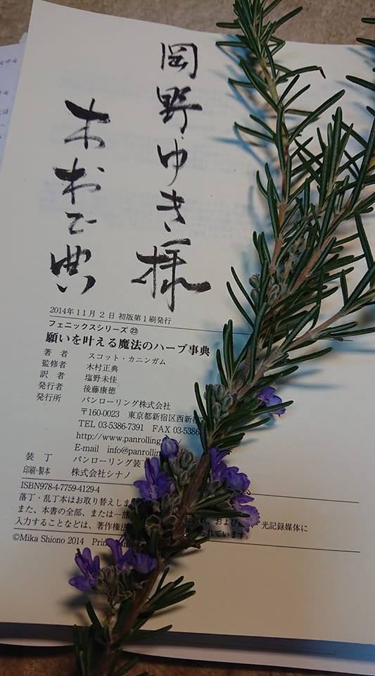 「ハーブの現状と可能性」木村正典先生講義報告