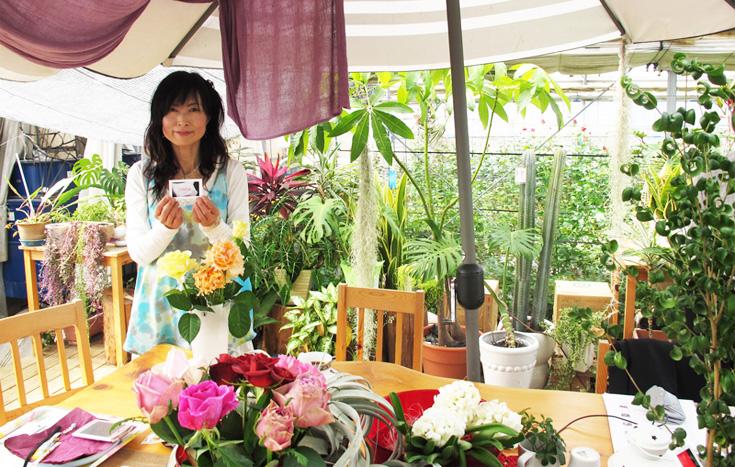 幸せと癒しのバラの花束をお届けいたします