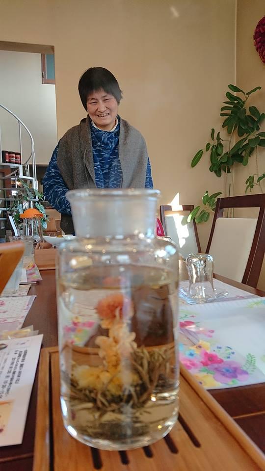 新春中国茶講座 in アローフィールド