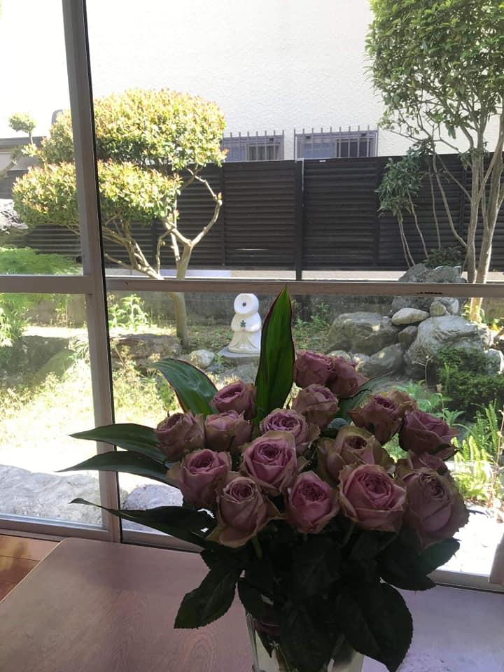 お母様への感謝の花束