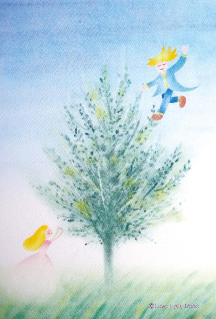 妖精ポストカード(月桂樹)