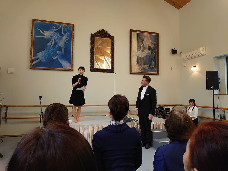 立脇紘子バレエ研究所 芸術応援活動