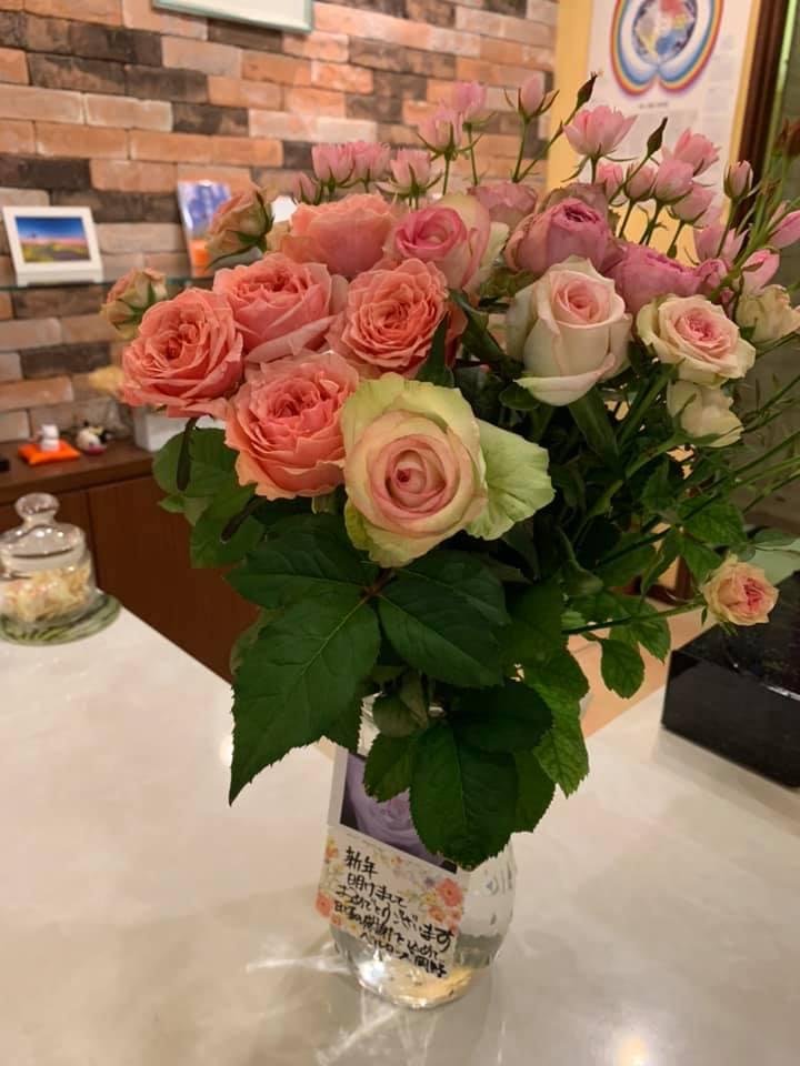 マヤ暦新年のハレ薔薇