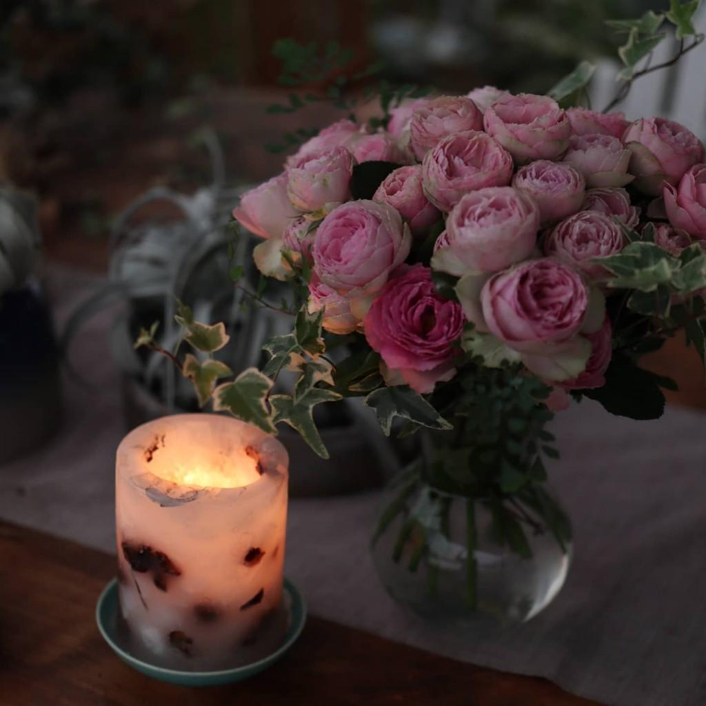 薔薇咲く場所で~ タロット&アクセサリー、無事終わりました
