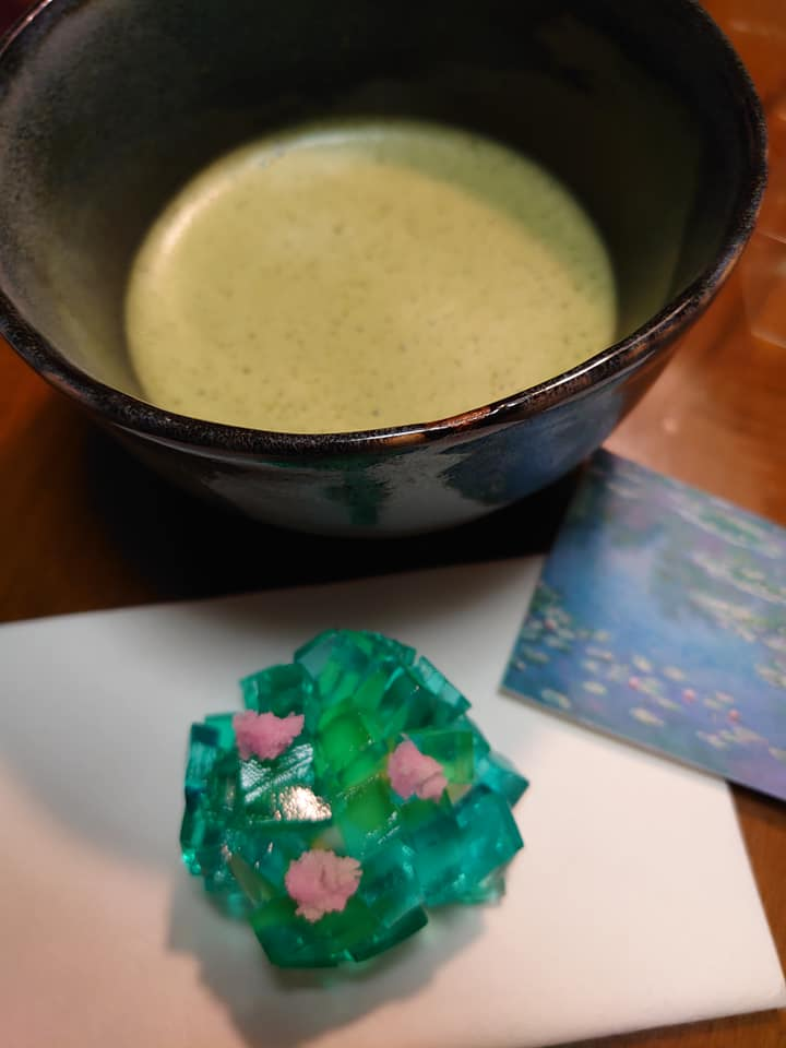 モネの庭の和菓子